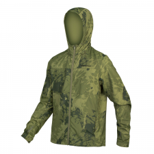 Endura Hummvee Windproof Shell Jacket, Olive Green