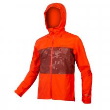 Endura SingleTrack Waterproof Jacket II, Paprika