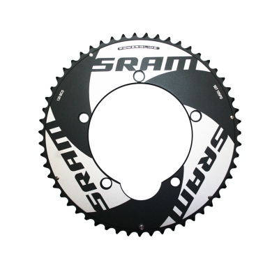 SRAM TT Outer Chainring, 5 Bolt, 130BCD, Black
