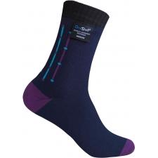 DexShell Utraflex Striped Waterproof Socks - Navy