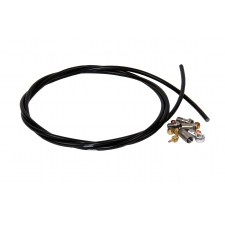 Hope Brake Hose, 5mm Black, Includes 90 and Straight C...