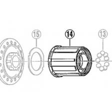Shimano FH-C201 RM40 Freehub Body, 8 speed (3SL 9803)