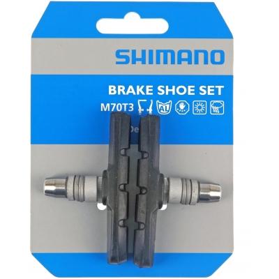 Shimano M600 (for LX / Deore / Alivio V-brake) One-piece Brake Blocks