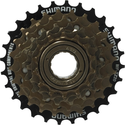 Shimano MF-TZ20 6-speed multiple freewheel 14-28T