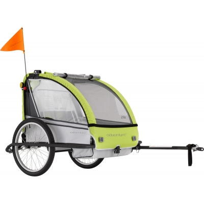 Adventure AT5 - Alloy 2-seater bicycle trailer