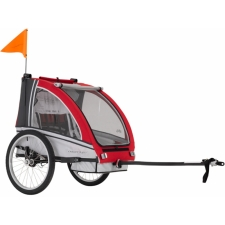 Adventure AT6 - Alloy 2-seater bicycle trailer