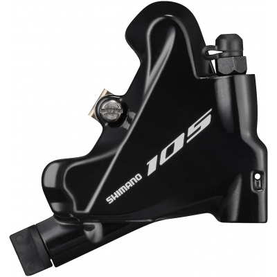 Shimano BR-R7070 105 flat mount calliper, without rotor or adapters, rear, black