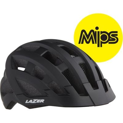 Lazer Compact DLX MIPS Helmet, Black