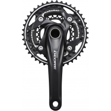Shimano FC-M610 Deore 10-speed chainset - 42 / 32 / 24...