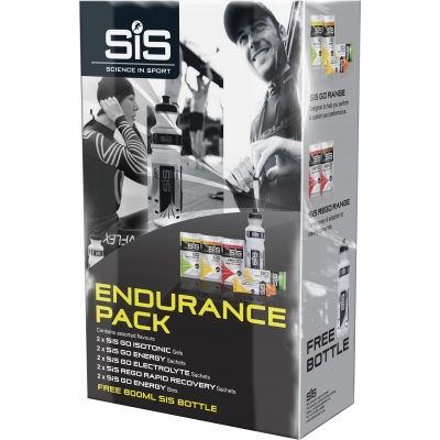 SIS Endurance Pack - mixed energy products and FOC 600 ml bottle