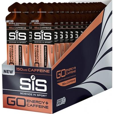 SIS GO plus 150mg Caffeine Gel  (60 ml tube)