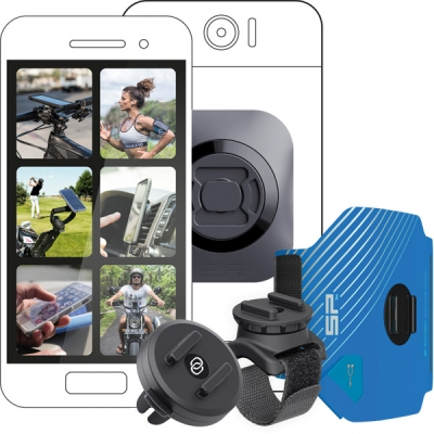 SP Gadgets Multi Activity Bundle - Universal (For running, cycling and driving)