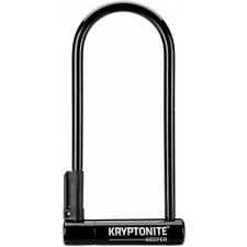 Kryptonite Keeper 12 Long Shackle D Lock, w/Bracket (S...