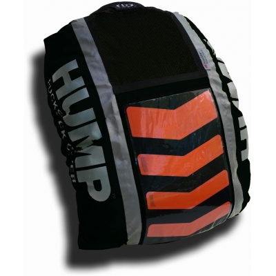 Respro Hi-Viz Hump Rucsac Cover with P15 Chevron LED Lighting