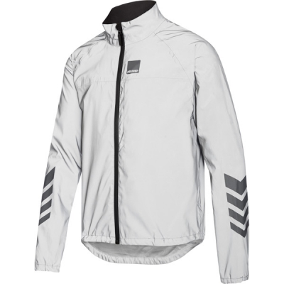 Respro Hump Shine Men's Waterproof Jacket, Reflective Silver
