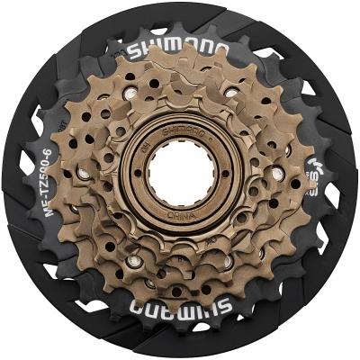 Shimano MF-TZ500 6-speed multiple freewheel 14-28T