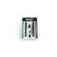 MilKit Tubeless Valves (Pair), 55mm