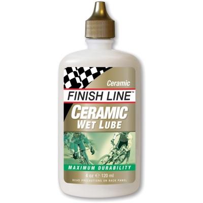 Finish Line Ceramic Wet Chain Lube 4oz/120ml Bottle