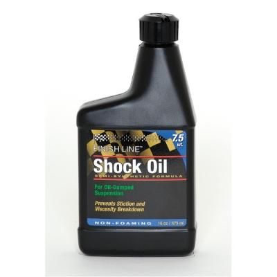 Finish Line Shock Oil 7.5 wt 16 oz (475 ml)