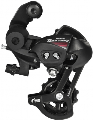 Shimano A070 7-speed road rear derailleur, with mounting bracket