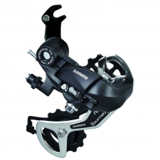 Shimano TX35 6/7-speed rear derailleur with bracket