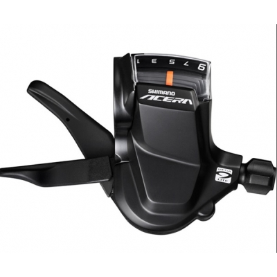 Shimano SL-M3000 Acera Rapidfire shift lever set, 9-speed, pair