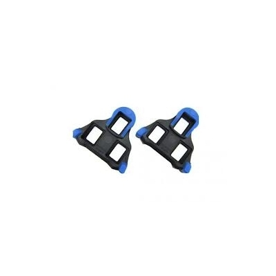 Shimano SH12 SPD-SL cleats, 2 degrees front pivot float (blue)