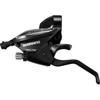 Shimano ST-EF510 EZ Fire Plus STI Set, 3 x 7-speed, Black