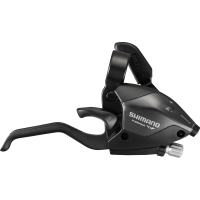 Shimano ST-EF51 EZ fire plus STI set, 2-finger lever, 3 x 9-speed, black