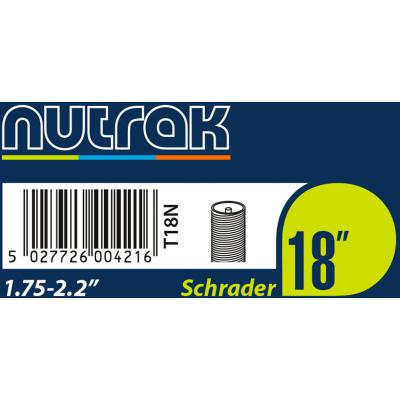 Nutrak 18 x 1.75-2.2 inch inner tube