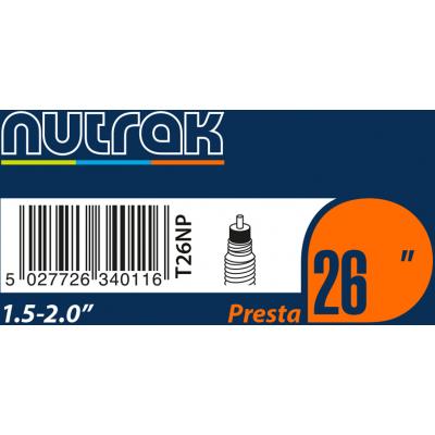 Nutrak 26 x 1.5 - 2.0 inch inner tube