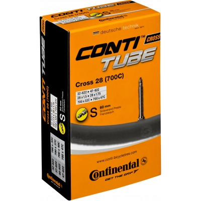 Continental Cyclo Cross 28 Tube (700c) - 60mm Presta Valve