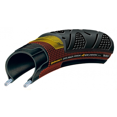 Continental Grand Prix 4 Season DuraSkin Vectran folding tyre