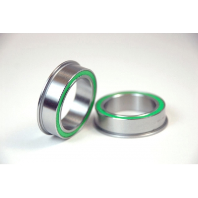 Wheels Manufacturing BB86 to 30 mm Replacement Bearing 30mm ID X 41mm OD Flanged, Dual Row Stainless