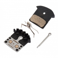 Shimano J04C Metal Disc Brake Pads with Fin and Spring...