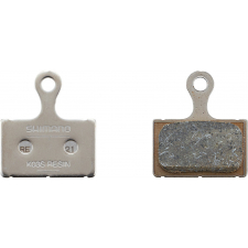 Shimano K02S Disc Brake Pads, Steel Backed, Resin