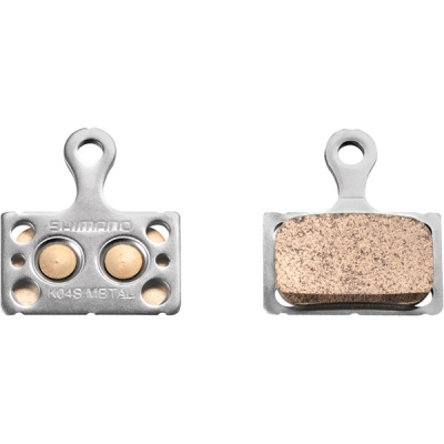 Shimano K04S Disc Brake Pads, Steel Backed, Metal Sintered