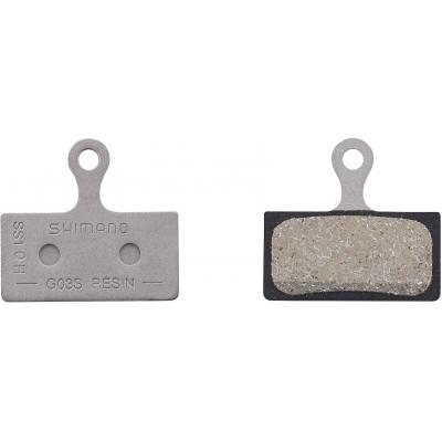 Shimano G03S Disc Brake Pads, Steel Backed, Resin