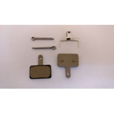 Shimano BR-T615 B01S Disc Brake Pads, Steel Backed, Re...
