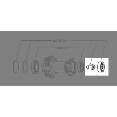 Mavic Assembly Kit Lefty Supermax, 36709301, KH124