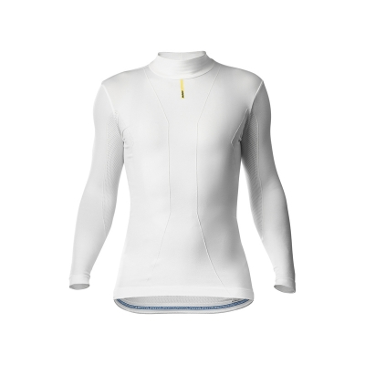 Mavic Cold Ride Long Sleeve Tee, White