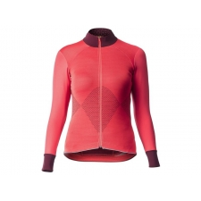 Mavic Sequence Women's Long Sleeve Jersey, Hibiscus