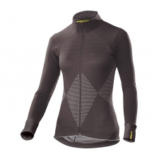 Mavic Sequence Women's Long Sleeve Jersey, After Dark
