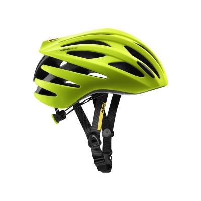 Mavic Aksium Elite Helmet - Safety Yellow/Black