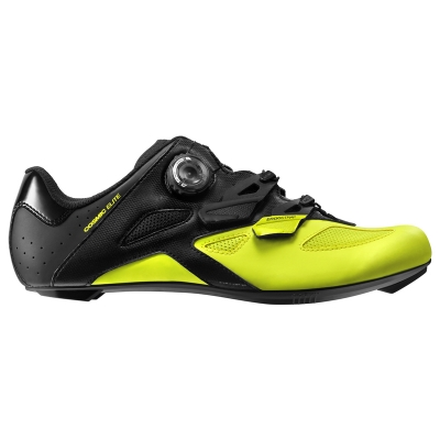 Mavic Cosmic Elite Road Shoe - Black/Black/Safety Yellow
