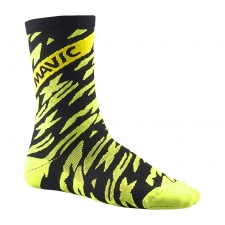 Mavic Deemax Pro High Socks - Safety Yellow/Black