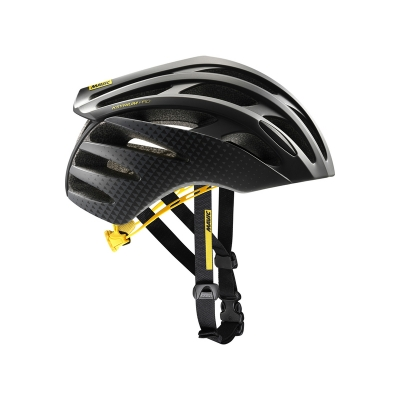 Mavic Ksyrium Pro MIPS Helmet - Black/Yellow Mavic
