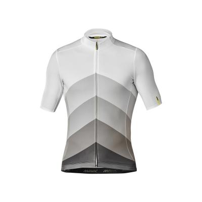 Mavic Cosmic Gradiant Short Sleeve Jersey, White