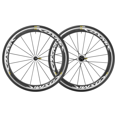 Mavic Cosmic Pro Carbon Wheels (Pair), White 2018