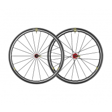 Mavic Ksyrium Elite UST Tubeless Wheelset, Red